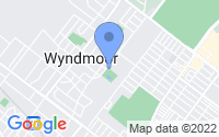 Map of Wyndmoor PA